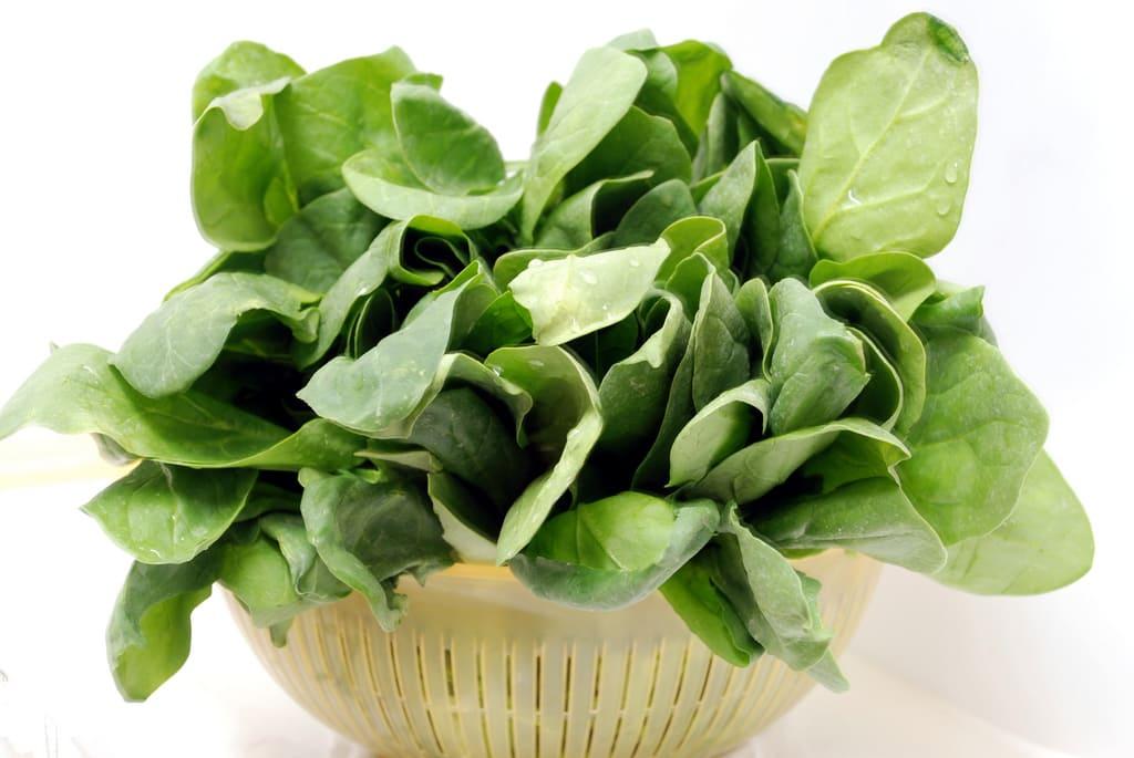 как сохранить шпинат