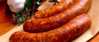 Как хранить колбасу  Колбаса kak hranit kolbasu 330x140