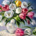 Тюльпаны tulpan 120x120