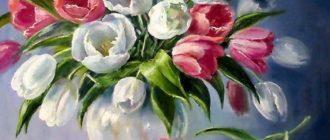 Тюльпаны tulpan 330x140