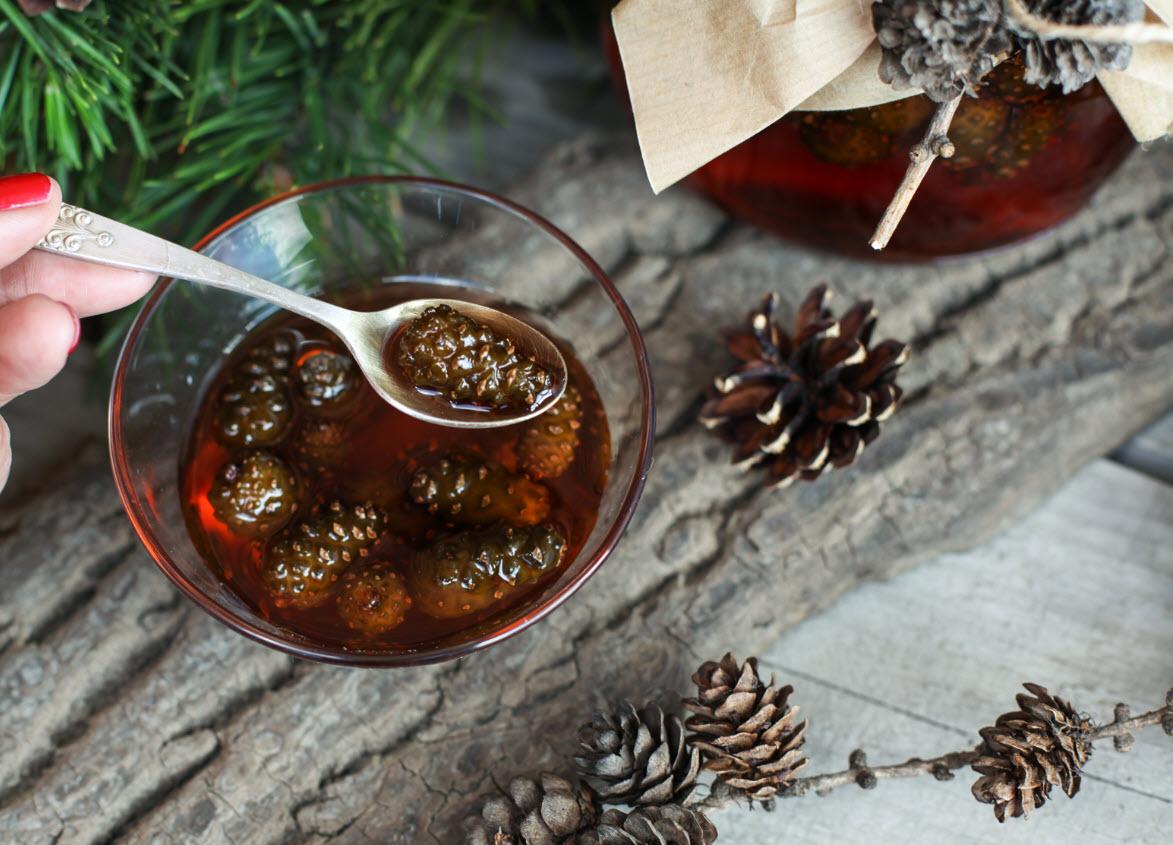 Как хранить варенье из сосновых шишек varenje sosnovye shishki kak hranit