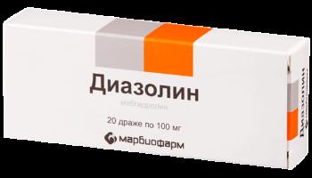 Диазолин  Диазолин diazolin srok godnosti 350x200