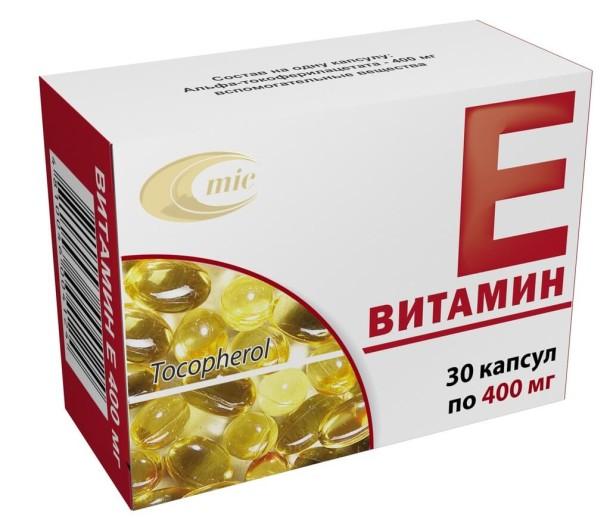 Витамин Е vitamin e srok hraneniya