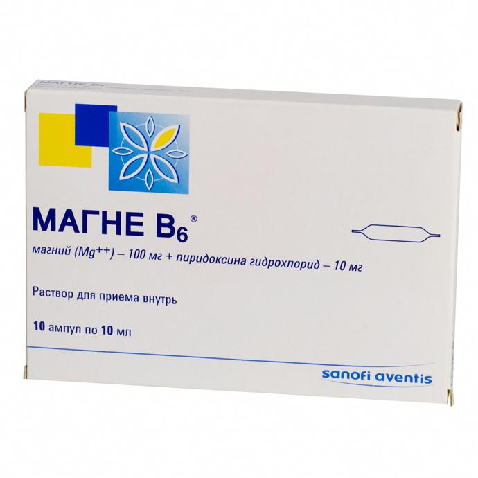 Магне B6 / Магний Б6 magniy b6 srok godnosti